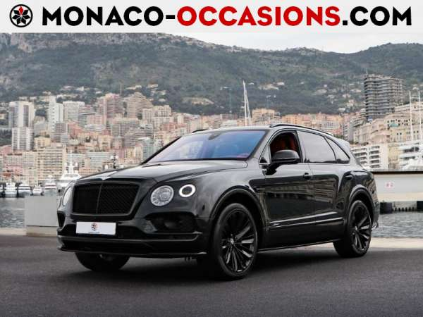 Bentley-Bentayga-Speed W12 635ch-Occasion Monaco