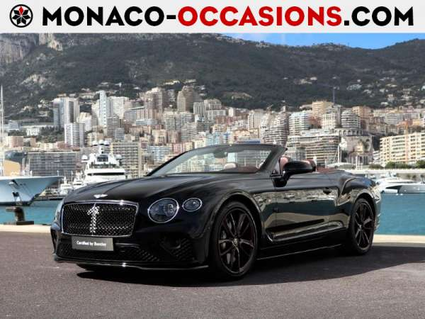 Bentley-Continental GTC-W12 Mulliner Edition 1-Occasion Monaco