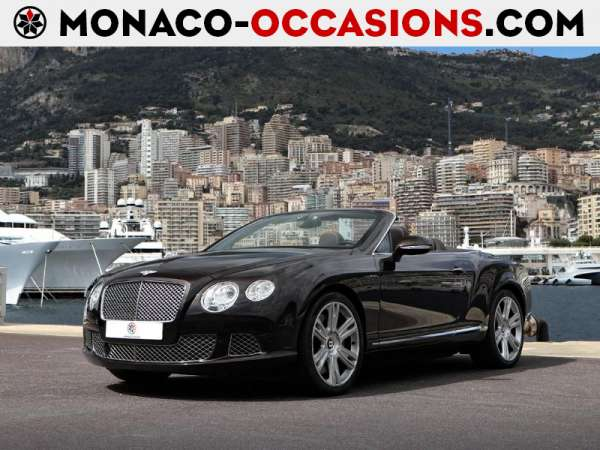 Bentley-Continental GTC-W12 6.0-Occasion Monaco