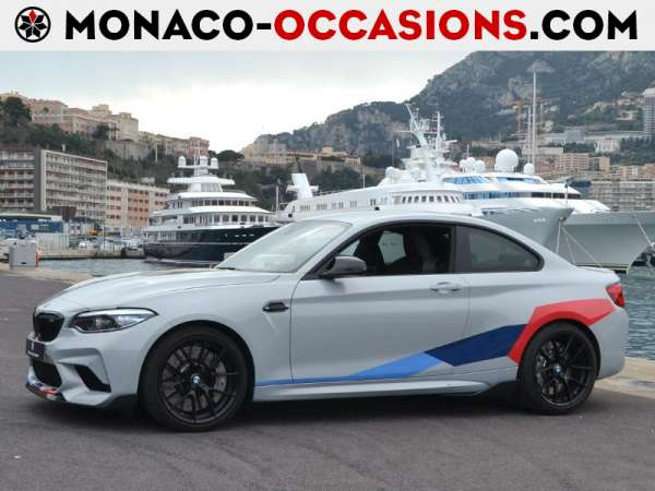 BMW-M2 Coupe-3.0 410ch Competition-Occasion Monaco