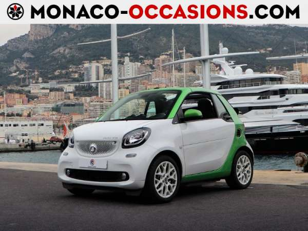 smart-Fortwo Cabriolet-Electrique 82ch passion-Occasion Monaco