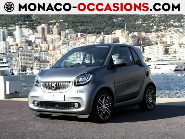 smart-Fortwo Coupe-Electrique 82ch passion PULL & BEAR-Occasion Monaco